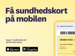 Få sundhedskort på mobilen