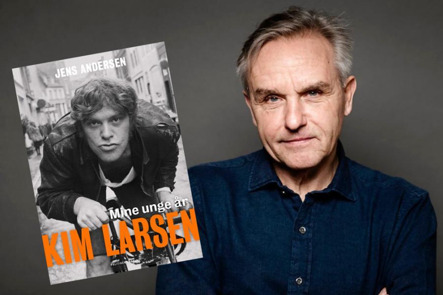 Billede af Jens Andersen med sin vindende bog
