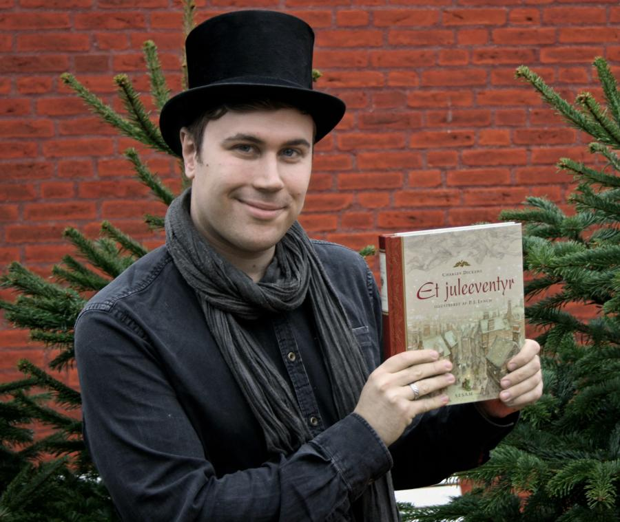"""Mathias Lyngs holder bogen """"Et Juleeventyr"""""""