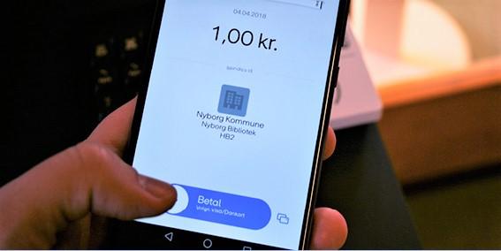 Betal gebyrer med MobilePay | Nyborg Bibliotek